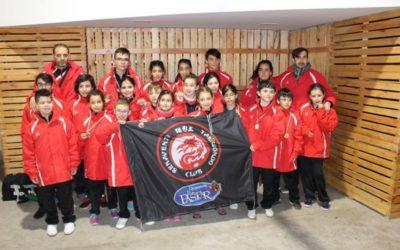 Primeros por equipos en el V Open de Extremadura
