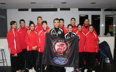 3 oros 4 platas y 1 bronce en el XVIII Campeonato Internacional Ciudad de Riveira