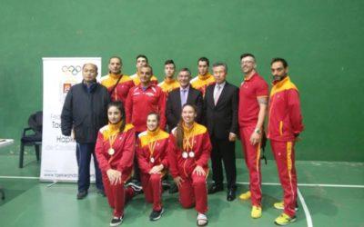 """Campeonato de Castilla y León de Tecnica y Poomsaes y Campeonato Nacional de Taekwondo """"Ciudad de Cantalejo"""" combatepesos olímpicos"""