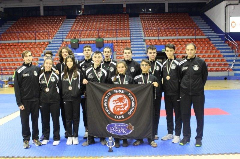 3 oros, 4 platas y 4 bronces en el Open de Euskadi