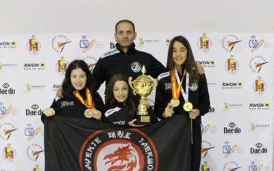 Sofía Rodríguez se proclama en una misma jornada Campeona de Europa y de España Precadete, Ainara Fontano Subcampeona de España Precadete