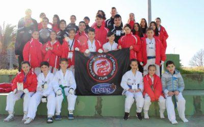 5 oros, 6 platas, 5 bronces y primeros por Equipos en el Open de Extremadura
