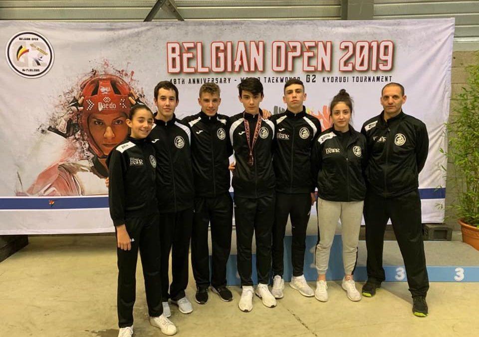 Un bronce para el Quesos el Pastor en el Open de Bélgica 2019