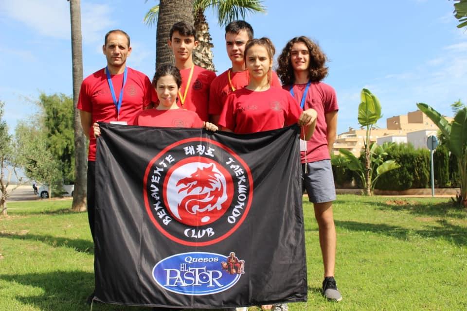 Un Oro y una Plata para el Club Taekwondo Benavente Quesos el Pastor en la 1ª jornada de la  Liga Española de Taekwondo