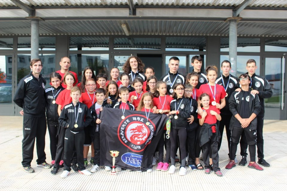 9 oros, 8 platas y 7 bronces en el Open Internacional Ciudad de Miranda de Ebro