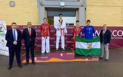 Aaron Carracedo Plata en el Open de Andalucía 2019